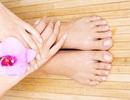 Chăm sóc bàn chân đúng cách khi Đông về