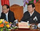 Chủ tịch nước yêu cầu Bình Định thúc đẩy nhanh dự án lọc hóa dầu