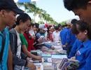 Hàng ngàn sinh viên dự Ngày hội trao đổi sách - kết nối tri thức