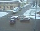 Nỗi khổ khi lái xe trên đường tuyết