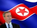 Chủ tịch Google lần đầu chia sẻ về chuyến đi Triều Tiên