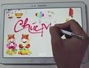 Hướng dẫn tạo thiệp điện tử mừng năm mới với máy tính bảng