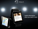 Đồng hồ thông minh G Watch của LG sẽ được ra mắt vào tháng 6