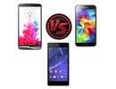 """Đặt LG G3 lên """"bàn cân"""" với loạt smartphone """"bom tấn"""" khác"""