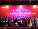 52 cá nhân, tập thể nhận giải thưởng Quỹ Tâm Tài Nghệ An lần thứ nhất