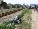Băng qua đường sắt, cán bộ xã bị tàu hỏa tông chết
