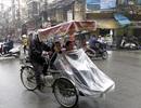 Hà Nội còn duy trì mưa phùn cả ngày