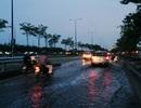 """Đại lộ """"nghìn tỉ"""" ngập nặng sau cơn mưa nhỏ"""