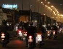 Giáp Tết, kẹt xe kinh hoàng trên xa lộ Hà Nội