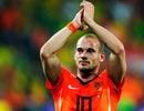 """Vừa sang Thổ Nhĩ Kỳ, Sneijder đã bị ĐT Hà Lan """"bỏ rơi"""""""
