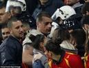 CĐV Montenegro hỗn chiến trước thềm trận đấu với tuyển Anh