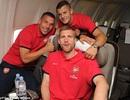 Arsenal chính thức lên đường tham gia tour du đấu châu Á
