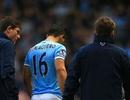 Aguero chấn thương nặng, Man City đứng ngồi không yên