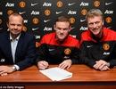 Rooney chính thức ký hợp đồng siêu khủng với MU