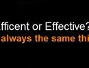 """Sự khác nhau giữa các loại """"hiệu quả"""" trong tiếng Anh"""