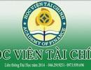Liên thông Học viện Tài chính tuyển sinh năm 2014 ngành Kế toán