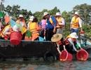 Thả hơn 290 ngàn con cá giống bản địa quý hiếm ra sông Hậu