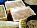 Kinh hoàng kho chứa gần 5 tấn lòng lợn thối từ các lò mổ ở Hà Nội