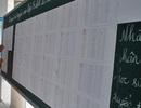 """Nhiều trường """"nóng"""" công bố kết quả xét tuyển lớp 6"""