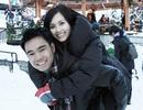 Miss Teen Huyền Trang khoe ảnh tuần trăng mật xứ tuyết