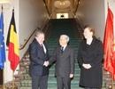 Tổng Bí thư hội kiến với các lãnh đạo Quốc hội Bỉ