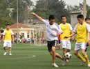 Thanh niên Công an đọ tài trên sân bóng