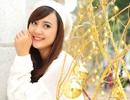 Hoa khôi sinh viên TPHCM xinh tươi đón Noel
