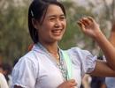 Thiếu nữ Thái rạng ngời ném còn vào Xuân