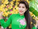 Á khôi Hoàng Y Nhung dịu dàng đón nắng Xuân