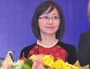 Nữ PGS.TS trẻ tuổi xinh đẹp nhận giải Thanh niên Pháp ngữ 2014