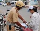 Xử phạt người điều khiển phương tiện không chính chủ là thách đố người dân