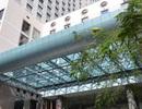 Một người nước ngoài rơi từ tầng 20 khách sạn Sheraton