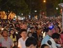 TPHCM: Kẹt xe nghiêm trọng trong tối Mùng 1 Tết