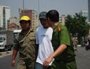 Bắt kẻ giật túi xách khiến quán quân Vietnam's Next Top Model nhập viện