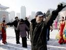 Người Triều Tiên tưng bừng múa hát mừng vụ phóng tên lửa