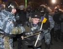 Hàng nghìn cảnh sát Ukraine trấn áp người biểu tình chống chính phủ