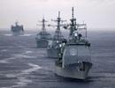Mỹ - Anh - Hàn tập trận hải quân đề phòng Trung Quốc
