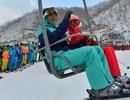 """Vào khu trượt tuyết """"xa xỉ"""" nhất Triều Tiên"""