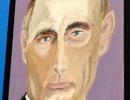 Cựu Tổng thống Mỹ Bush khoe vẽ tranh chân dung các lãnh đạo thế giới