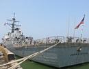 Cận cảnh tàu Hải quân Hoa Kỳ vừa đến Đà Nẵng