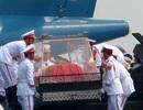 Xem lại hình ảnh linh cữu Đại tướng lên chuyên cơ rời Hà Nội