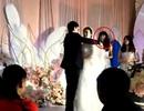 Đám cưới thu hút sự chú ý vì chàng trai giả gái làm phù dâu