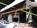 Hà Nội: Chợ Tó tan hoang sau hơn 30 phút hỏa hoạn