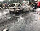 Vụ Mercedes cùng 4 phương tiện bốc cháy: Do đâm xe chở gas?