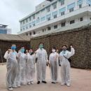 """Xây dựng """"bệnh viện"""" dã chiến ngay trong Bệnh viện Bạch Mai"""