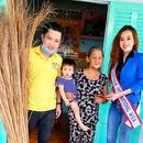 Hoa hậu Lâm Yến Phi và chuyến từ thiện đầy ý nghĩa