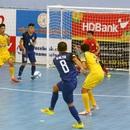 Trận cầu gây tranh cãi tại giải futsal vô địch quốc gia
