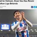 Báo Indonesia mỉa mai Văn Hậu sau khi rời Hà Lan