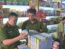 Thu giữ 4.000 sản phẩm sữa, bánh kẹo trẻ em, mỹ phẩm không rõ xuất xứ
