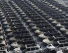 """Hàng nghìn xe mới cháy đen sau vụ nổ """"long trời"""" ở Thiên Tân"""